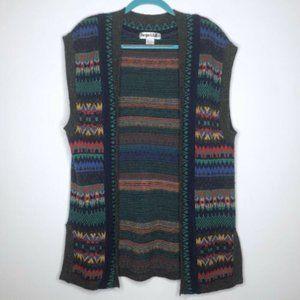 Vintage Jacque & Koko Tribal Vest Size 14/16